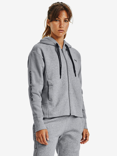 Under Armour Rival Fleece Embroidered Full Zip Bluza