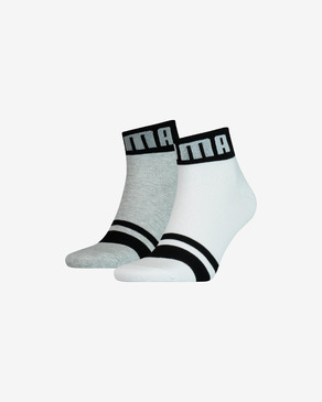 Puma Seasonal Logo 2-pack Skarpetki