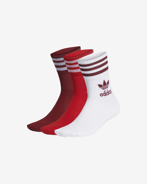 adidas Originals Mid Cut 3-pack Skarpetki