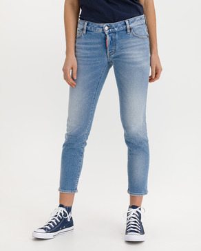 DSQUARED2 Jennifer Cropped Dżinsy