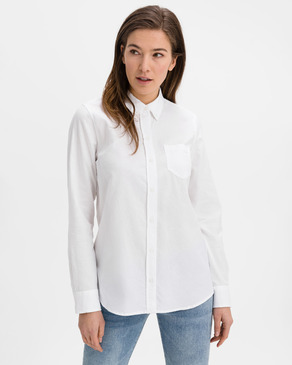 GAP Fitted Boyfriend Oxford Koszula