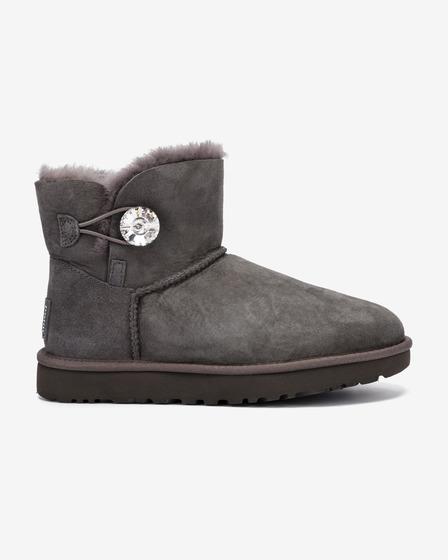 UGG Mini Bailey Button Bling Śniegowce