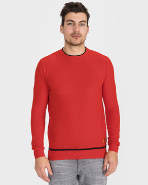 Scotch & Soda Structured Sweter