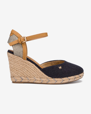 Wrangler Brava Rope Buty wedge