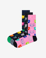 Happy Socks Cat Gift Box 3-pack Skarpetki