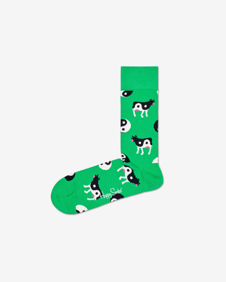 Happy Socks Ying Yang Cow Skarpetki